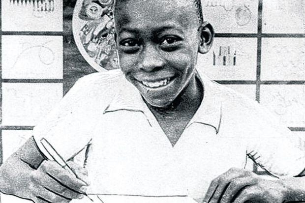 When he was  a young boy,  Pele dreamed  of someday writing an irreverent  Saturday column, but  his parents told him to focus on football instead.Picture: Archive