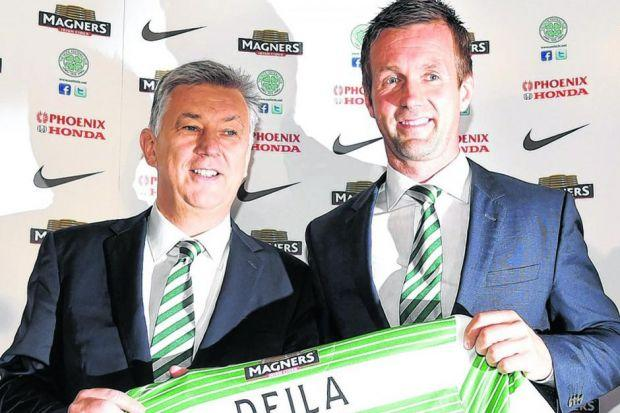 Peter Lawwell believes he has appointed a manager who fits the Celtic mould. Picture: SNS