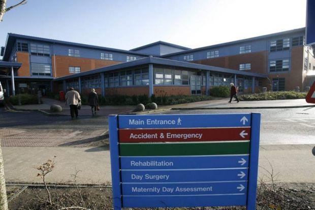 Apology after A&E patients told to try another hospital
