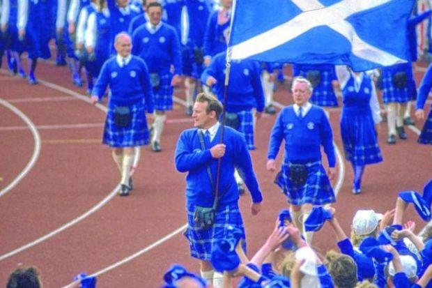 Team Scotland comprised 57 athletics contestants in Edinburgh, a record about to be broken. Picture: Getty