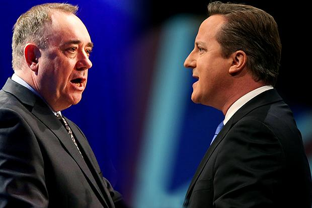 Gordon Brown: David Cameron should debate with Alex Salmond