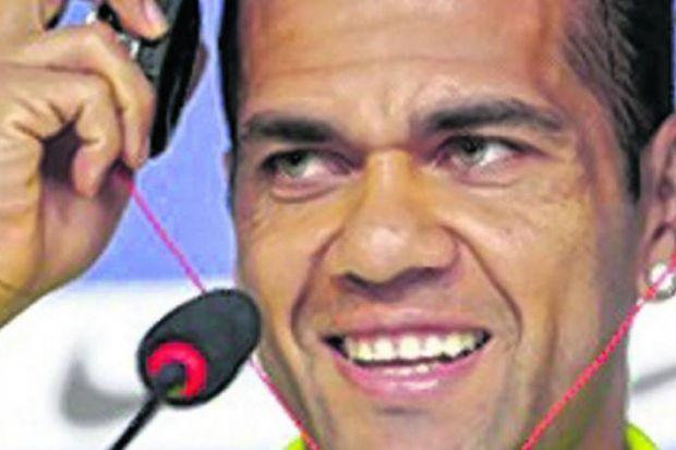 Dani Alves is confident Brazil can cope with the pressure as they prepare for Thursday's World Cup opener