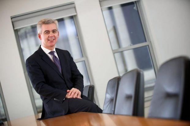 GOOD YEAR: Shepherd and Wedderburn chief executive Stephen Gibb is delighted with a 10 per cent rise in profits.
