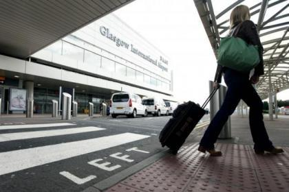 Glasgow airport passenger numbers up 4.3%