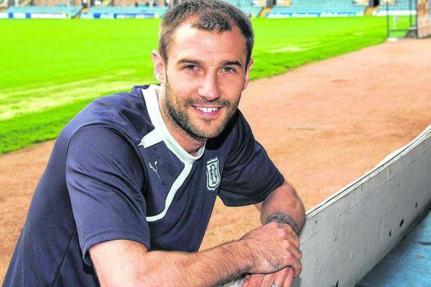 Kevin Thomson is confident that he can be successful following his move to Dundee as he already feels appreciated by manager Paul Hartley. Picture: SNS