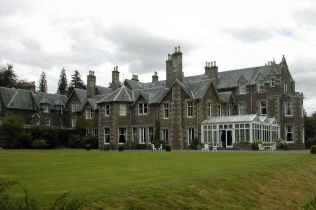 CROMLIX HOTEL:  The country house, near Dunblane, was taken over by Andy Murray last year.
