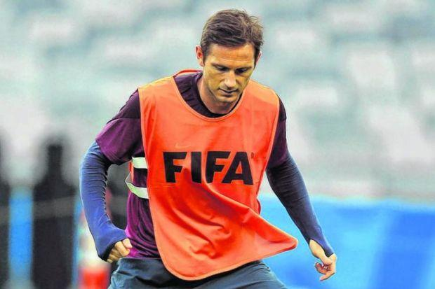 Frank Lampard will captain England's young lions against Costa Rica in their final group match.  Picture: Mike Egerton/PA