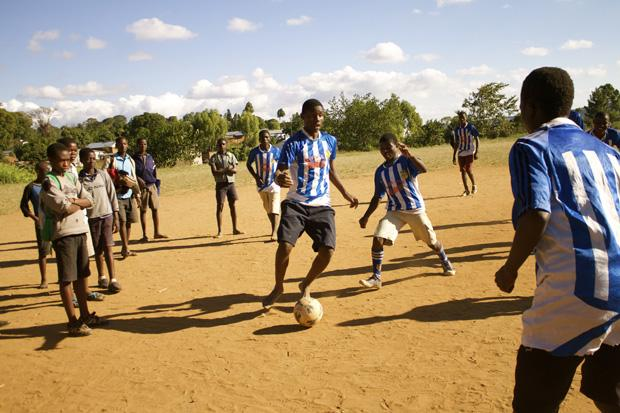 Messages from Malawi: why daily school meals are empowering children to play the beautiful game