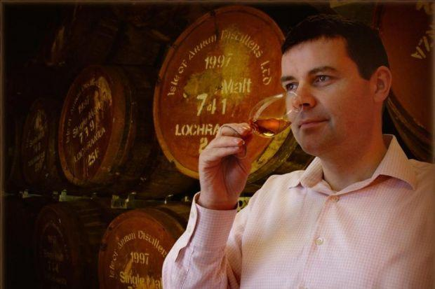 RESULTS: Euan Mitchell, managing director of Isle of Arran Distillers, wants to see another profit rise.