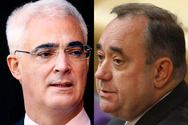 Salmond gets first and last word in next week's indyref TV debate with Darling