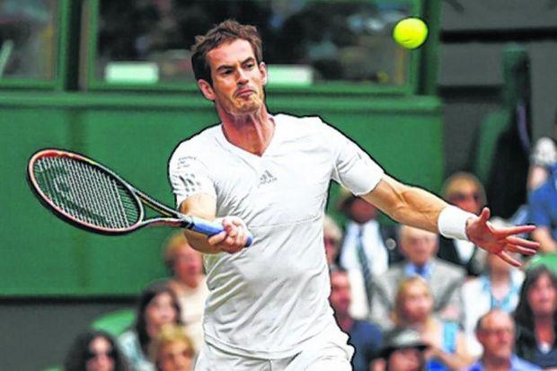 Andy Murray defeated the big-serving South African Kevin Anderson in straight sets