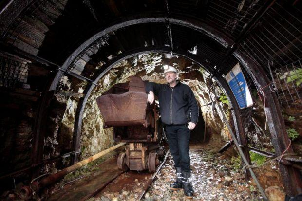 MINING PLANS: Scotgold Resources, headed by Chris Sangster, is still hoping to open a gold and silver mine at Conononish in Argyll. Picture: Mark Mainz