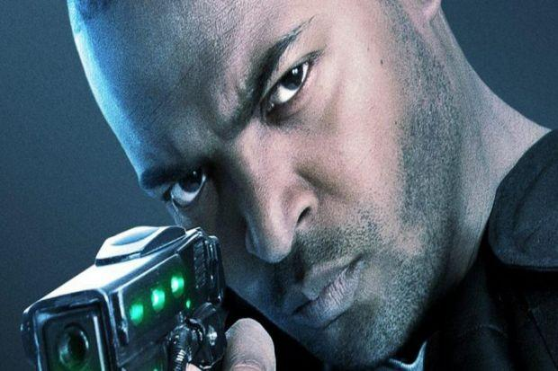 SCIENCE FICTION: Noel Clarke is the all-action hero and fell in love with his latest project The Anomaly. He is delighted that people see it as a low-rent version of massive American movies.