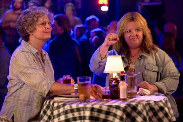 Susan Sarandon and Melissa McCarthy misfire in the mirth-free Tammy.