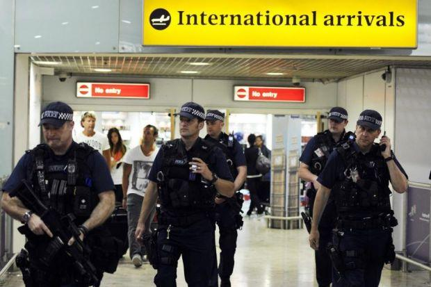 FEAR FACTOR: Since New York's Twin Towers fell at the hands of terrorists in 2001, security has been tightened on airline travel across the worl