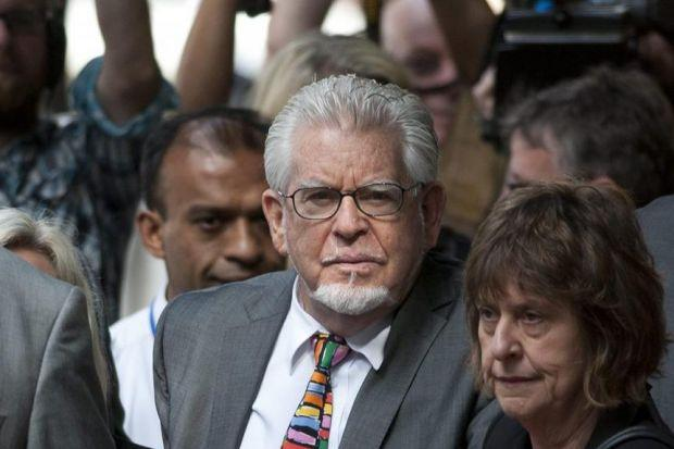 NO REMORSE: Entertainer Rolf Harris, condemned for sex crimes, arrives for sentencing at Southwark Crown Court in London. Picture Will Oliver/EPA