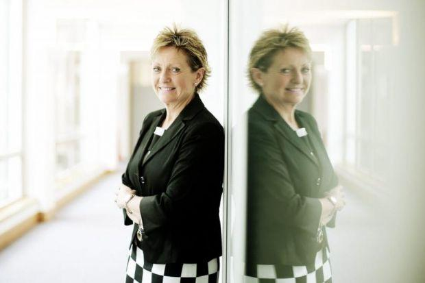 BusinessClub Scotland boss Linda McDowall of Scottish Enterprise Photograph: Mark Mainz