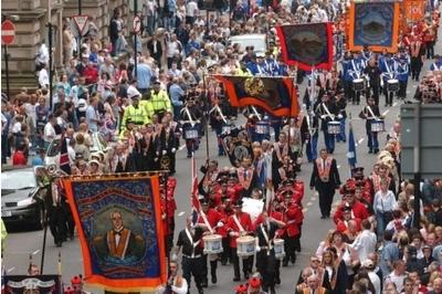 Orange Order vows march to save Union will go ahead after violence mars Glasgow walk