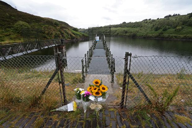 Tributes paid to reservoir death boy