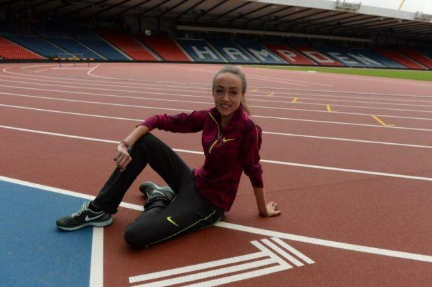 IN TRAINING: Eilish McColgan will compete in the steeplechase at the Commonwealth Games in Glasgow.