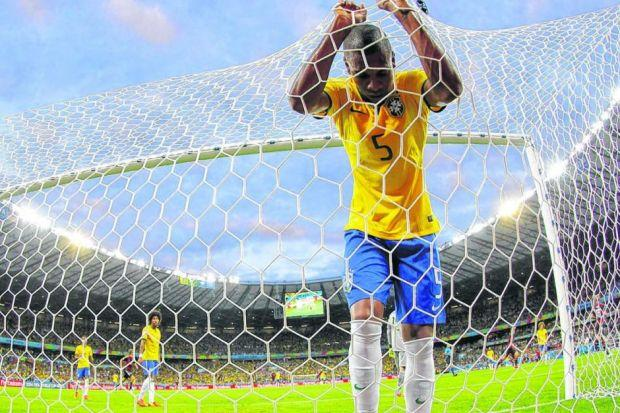 Fernandinho has nowhere to hide as the full extent of Brazil's humiliation begins to materialise