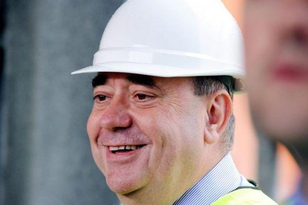 FUEL TO FIRE: First Minister Alex Salmond claims successive UK governments have