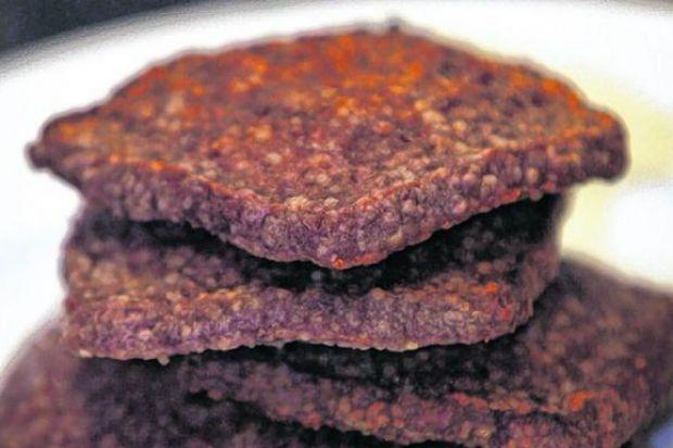 THE HEALTHY OPTION: Square sausage; the bit of an unknown animal that other animals will not eat. Picture: Stewart Attwood