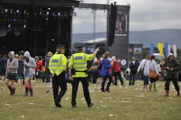 CHEERS: Most music fans are praised by police.