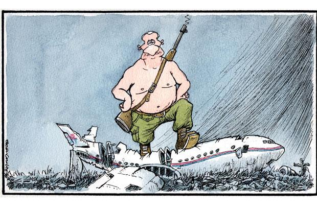 Camley's Cartoon: on the aftermath of the Malaysia Air Flight 17