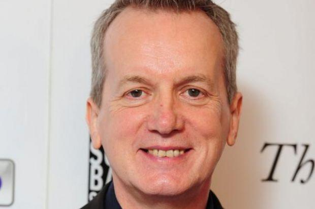 Frank Skinner: Says it's easier to say he's British than English.