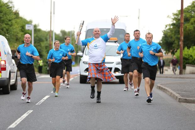 In pictures: Baton relay day 39, Glasgow South