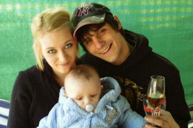 VICTIMS: Shauna Robb, Graham Lockhart and their children were killed in the head-on crash.