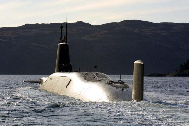 Revealed: £1bn bill to keep Trident