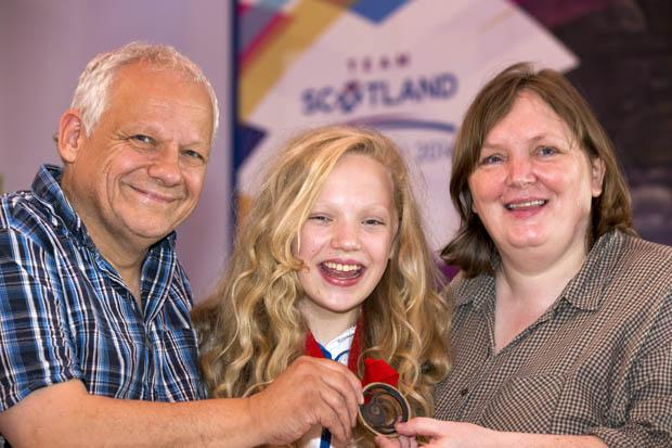 Scotland's Games 'baby' takes bronze as the medal tally rises again to 30