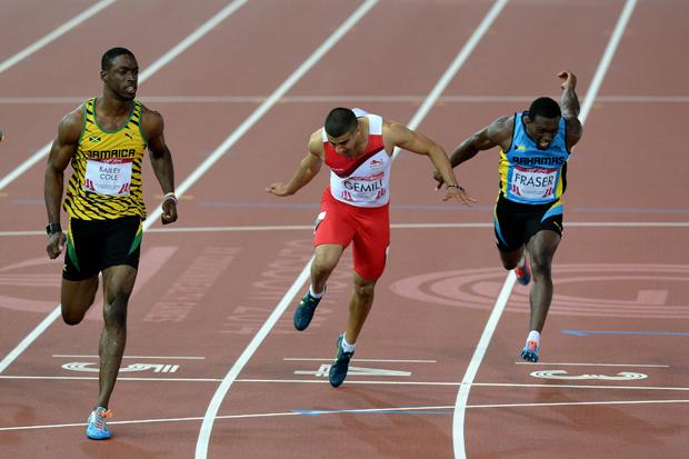 100m golds for Bailey-Cole and Okagbare
