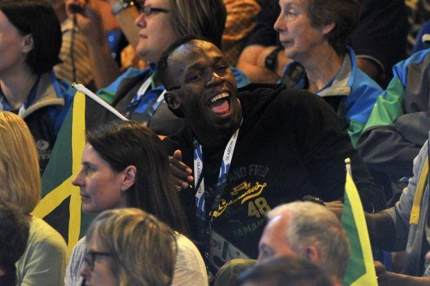 Stars defend Glasgow after Bolt embroiled in Games row
