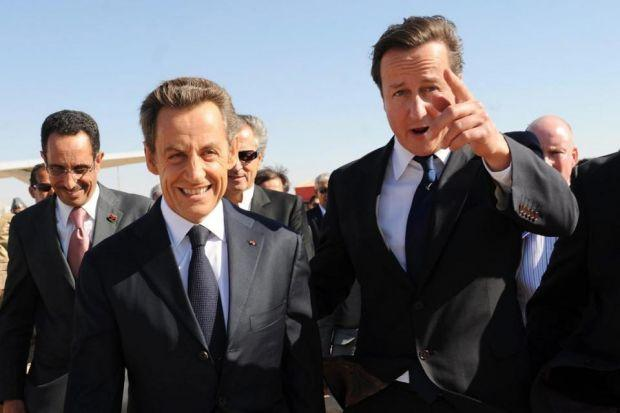 CHANGE OF TACK: The current situation is not what the West hand in mind when Nicolas Sarkozy and David Cameron had a taste of liberal interventionism in 2011. Picture: Getty Images