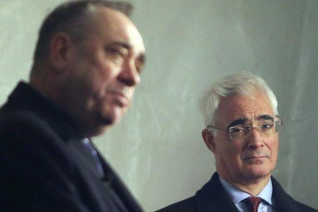 HEAD TO HEAD: After wrangling, Alex Salmond and Alistair Darling will engage in debate. Picture: Gordon Terris