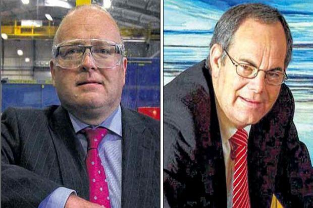 CHANGE: Weir, led by Keith Cochrane (left), split with BAML over links with IMI, run by Mark Selway (above).
