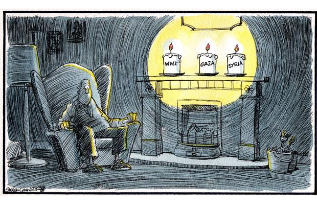 Camley's Cartoon: on 'Lights Out' for WW1