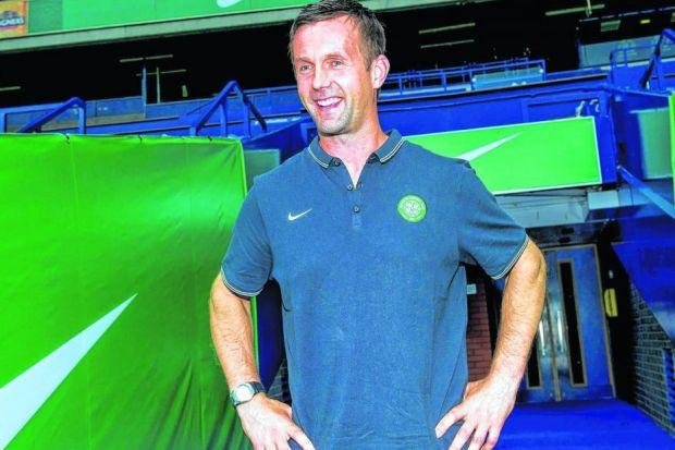 Celtic manager Ronny Deila still confident as his team prepare for showdown with Legia Warsaw. Picture: SNS