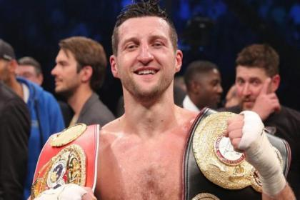 Punters back boxer Carl Froch in celebrity gymnastics show Tumble