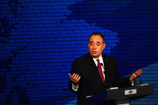 Salmond: there is literally nothing anyone can do to stop an independent Scotland using the pound