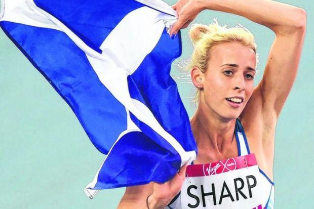 Lynsey Sharp: 'That's just what this year has been like for me'