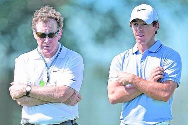 Bannon has coached McIlroy since he was seven. Picture: Getty
