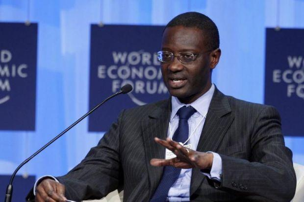 standing FIRM: Chief executive Tidjane Thiam says Prudential will keep doing business in Scotland. Picture: AP