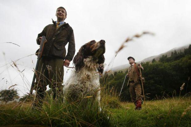 BIRDS IN THE HANDS: Shooters were up bright and early for the Glorious 12th, giving Craig Sandle, head chef at The Pompadour by Galvin in Edinburgh, and his team some prized early grouse. Pictures: Gordon Terris