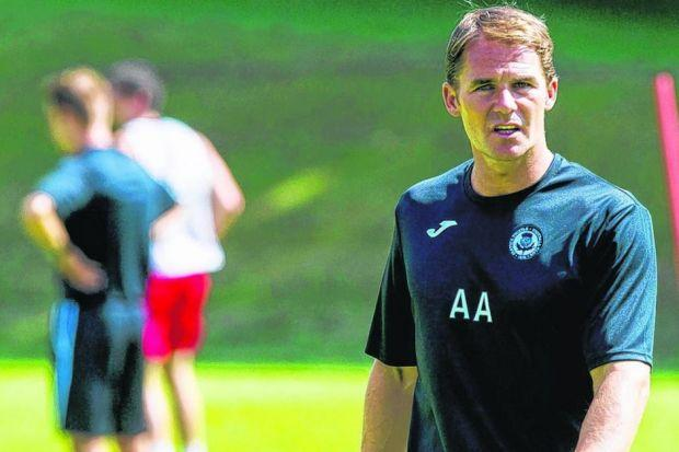 Alan Archibald believes his patience is paying off. Picture: SNS