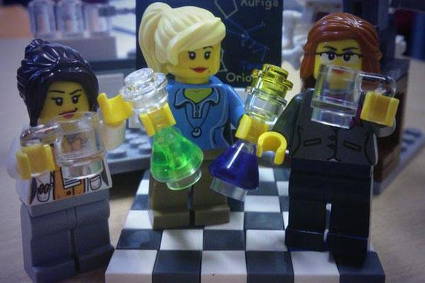 Pieces come together: academic is Twitter hit with her Lego scenes of campus life