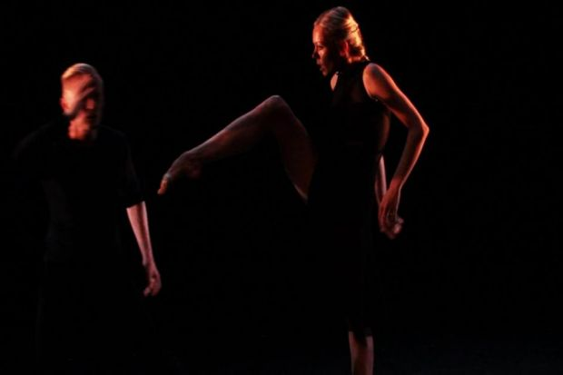 impressive: Eve Mutso and Daniel Kirspuu star in this double bill, a highlight of the Dance Base programme.